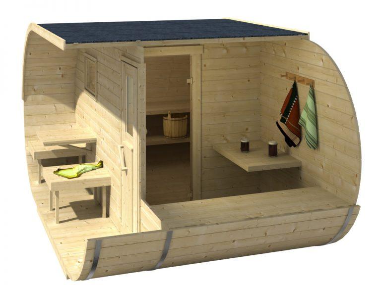 Oval Saunas
